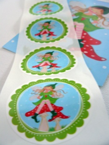 ♥TINKA BELLA♥sticker SWEET FAIRY