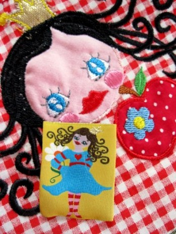 ♥PRINCESS 7BEAUTY♥ fairy-tale LOVE woven LABEL