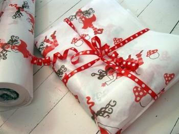 ♥PACKPAPIER♥ Meterware MILLI ZWERGENSCHOeN Einpackpapier