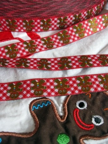 ♥GINGERbreadMAN♥X-MAS ribbon