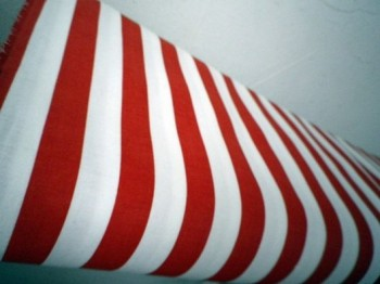 ♥STRIPES♥fabric cotton RED meets WHITE