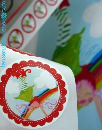 ♥TINKA BELLA♥sticker 20stk RAINBOW fairy