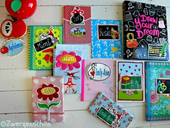 ♥BACK to SCHOOL♥Labels EMBROIDERY file 13x18cm