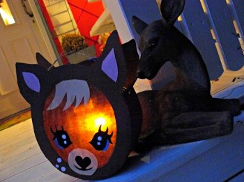 ♥LAMP♥eBOOK true blue LOVE DEER LANTERN german!!!