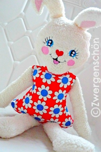 ♥HAPPY♥eBOOK embroidery-file SWEET BUNNY GIRL german