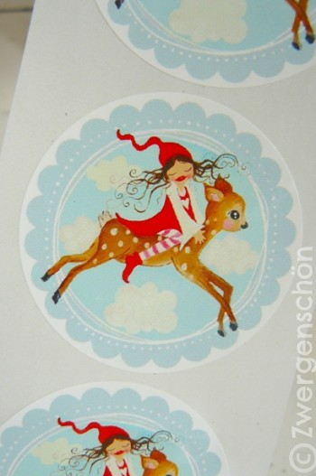 ♥MILLI in the SKY with BAMBI♥STICKER 20Stk