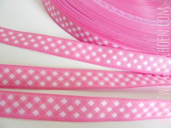♥VICHY♥sweet PINK ribbon BASIC MUST HAVE 15mm