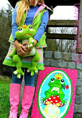 ♥FROGPRINCE ARTHUR♥eBOOK embroidery GERMAN