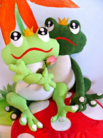 ♥FROGPRINCE ARTHUR♥eBOOK applique GERMAN