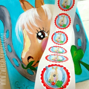 ♥LUCKY♥ Sticker 20pcs PONY Love HORSES