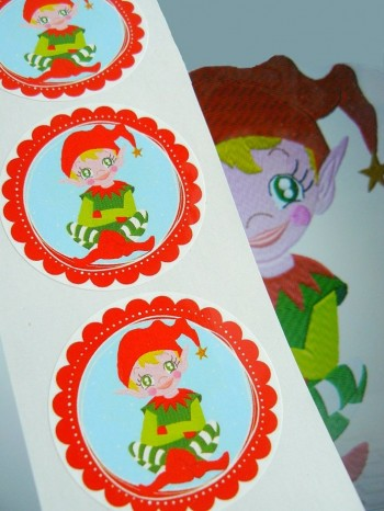 ♥FAIRY BOY♥ Sticker 20Pcs ELVES 5cm