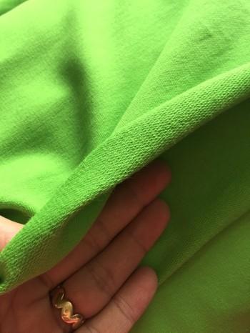 ♥UNI-SWEATSHIRT♥ 0,5m LIME grün