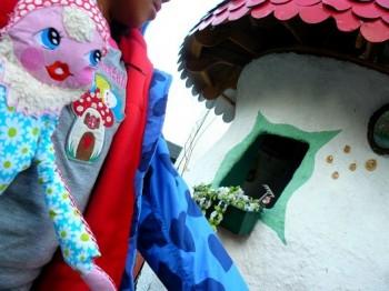 ♥HOME sweet GNOME♥ Stickdatei 13x18cm LIEBlingsZWERGE