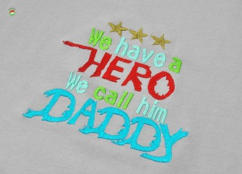 ♥WE have a HERO we call him DADDY♥ Stickmotiv 13x18 20x30cm 1€-SPARBIE