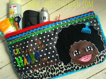 ♥AFRO Daddy♥ Embroidery APPLIQUE 13x18 20x20cm 1€-SPARbie