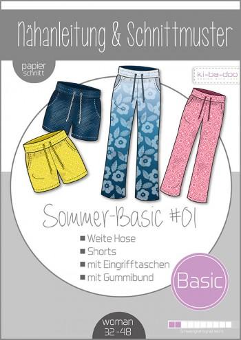 ♥Mix&Match Basic Hose♥ PAPIER-SCHNITTMUSTER Din A0 WOMAN 32-48