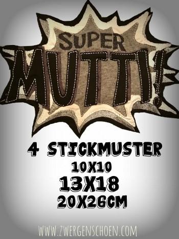 ♥SUPER MUTTI♥ 1€-SPARbie STICKMUSTER 10x10 13x18 20x26cm