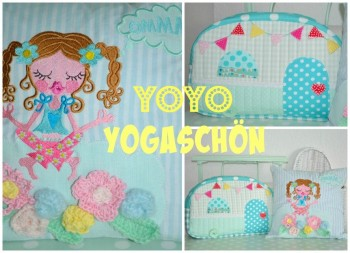 ♥YOYO YOGASCHoeN♥ Embroidery-File SET meditation SWEET OMMM