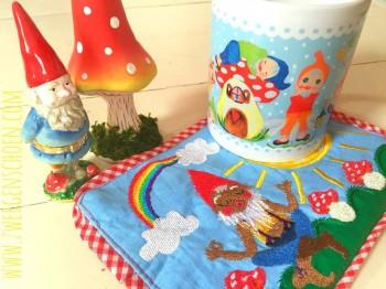 ♥BABA YAYA♥ Embroidery FILE Set GURU Gnome inkl. MUG RUG ith