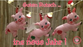 ♥GLüCKsSCHWEINchen♥ ITH Polly STICKDATEI Schwein 13x18 IN THE HOOP
