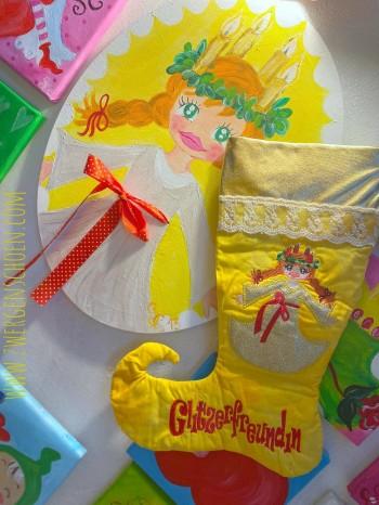 ♥ST. LUZIA♥ Embroidery-FILE-SET 13x18 20x26 20x30cm ITH