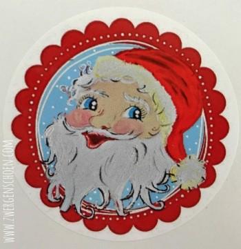 ♥SANTA BABY♥ Weihnachtsmann AUFKLEBER 20Stk.