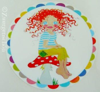♥HULLA TRoeLLA♥Icland FAIRY GNOME sticker SET of 20