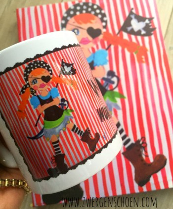 ♥BONNIE the PIRATE♥ Tasse 0.3L Piratin