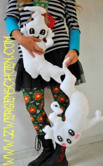 ♥HUI&BUH♥ eBOOK spooky GHOST pillow PATTERN german