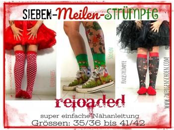 ♥7-MEILEN-STRÜMPFE♥ reloaded 3in1 eBOOK Nähanleitung PDF