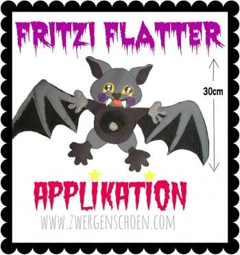 ♥FRITZI FLATTER♥ Applikation eBOOK OHNE (!) Stickmaschine