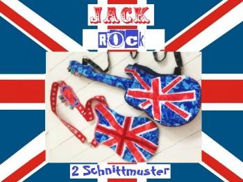 ♥JACK ROCK♥ Gitarre SCHNITTTEILE 1€-SPARbie