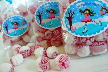 ♥SCHNEEFLoeCKCHEN♥ Sticker ICEPRINCESS sweet bakery 10pcs 4x5cm