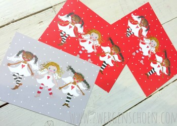 ♥HIMMELSCHoeN united♥ Postcard-Set 3 pcs GUARDIAN ANGEL
