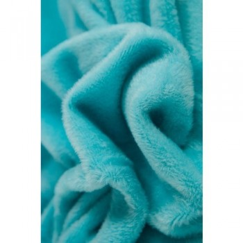 ♥FLEECE♥ 0.5m TURQUISE blue Alps