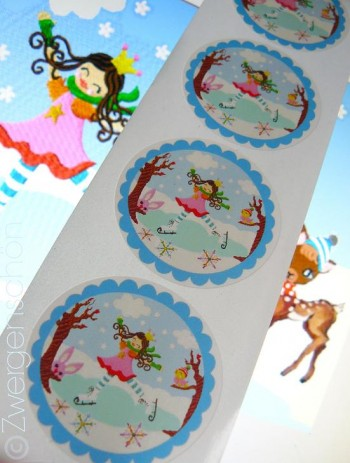 ♥ICE PRINCESS♥ Sticker 20pcs. WINTERWONDERLAND