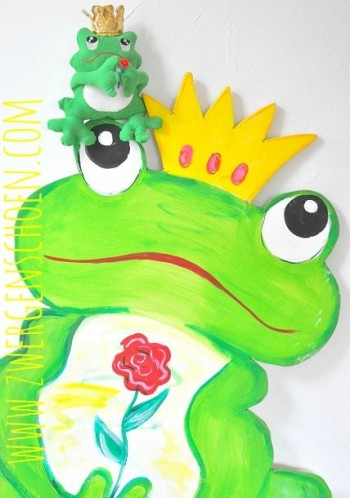 ♥FROGprince ARTHUR♥ ITH Embroidery 13x18cm IN THE HOOP