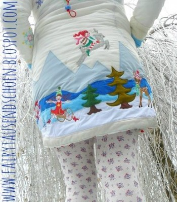 ♥MILLI`s BIG WinterWONDERworld♥ XXXL Embroidery FILE 13x18cm