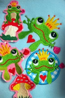 ♥FROGPRINCE♥ Arthur fairy-tale EMBROIDERY file-SET