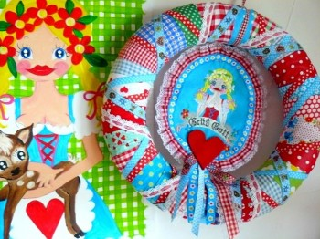 ♥HERZILEIN♥ Bavarian FOLK embroidery-file SET 13x18cm
