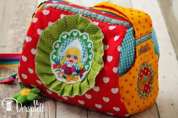 ♥HOLLAND`s MEISJE♥ Stickmuster 10x10 13x18cm HOLLAND
