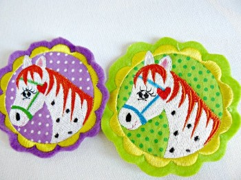 ♥KNABSTRUPPER♥ Horse LOVE Embroidery-FILE