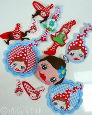 ♥little MISSI Zwergenschoen♥ SPECIAL Embroidery-File 10x10cm