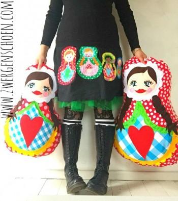 ♥SCHoeNtruschka♥ PATTERN Matroschka MATRYOSHKA 1€-SPARbie
