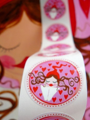 ♥MILLI in LOVE♥ Sticker LOVE Price for 20 SIZE 4cm
