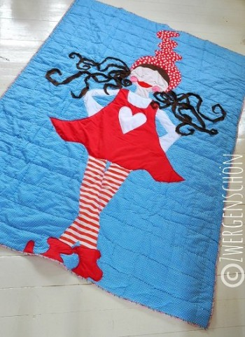 ♥MILLI XXL♥ Applique eBOOK 80cm HEIGH