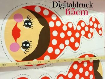 ♥MISSI♥ 65cm STOFFPANEEL XL Digitaldruck!!!