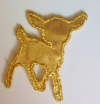 ♥OILILY♥ Bambi GOLD iron it! PRICE PER ONE
