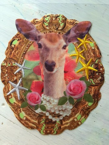 ♥DEER♥ iron-it APPLIQUE Price for ONE