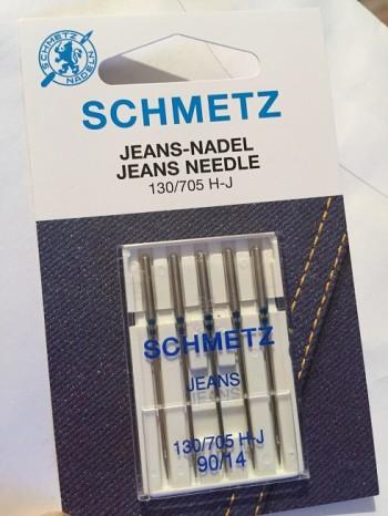 ♥SCHMETZ♥ Jeans NÄHMASCHINEN-NADELN Jeans-NADEL